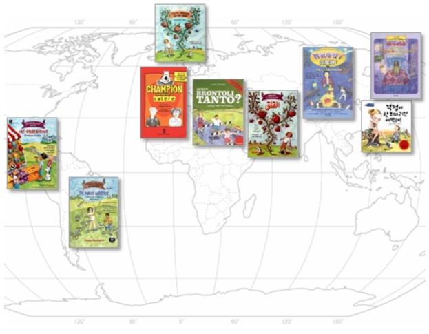 Huebner's books are read worldwide